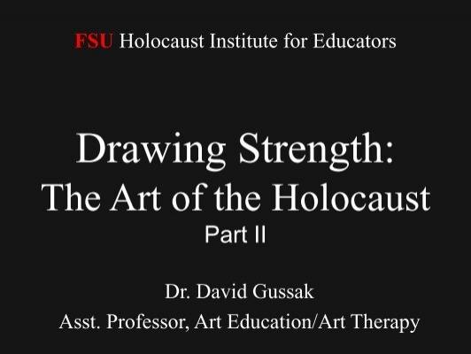 Art And The Holocaust II - Blackboard @ FSU (Campus fsu edu)