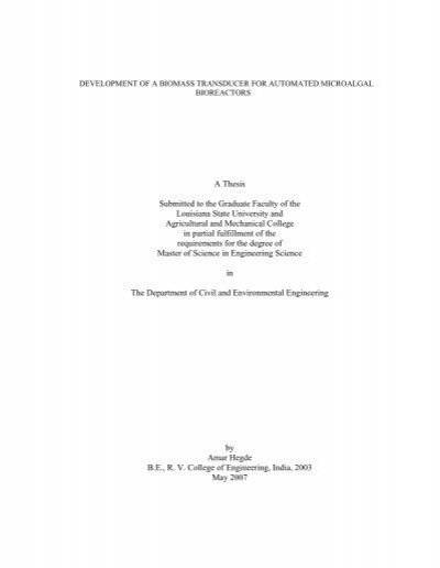 etd dissertation lsu An etd is an electronic version of a thesis or dissertation dissertation   document lsu etd library networked digital library of theses &  dissertations.