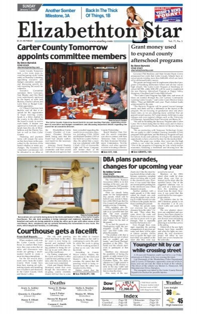 Carter County Tomorrow Appoints Committee Members