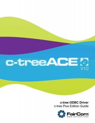 FAIRCOMC-TREE PLUS ODBC DRIVERS FOR WINDOWS