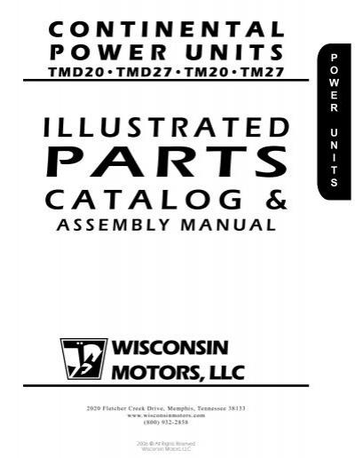 TMD20, TMD27, TM20, TM27 - Wisconsin Motors