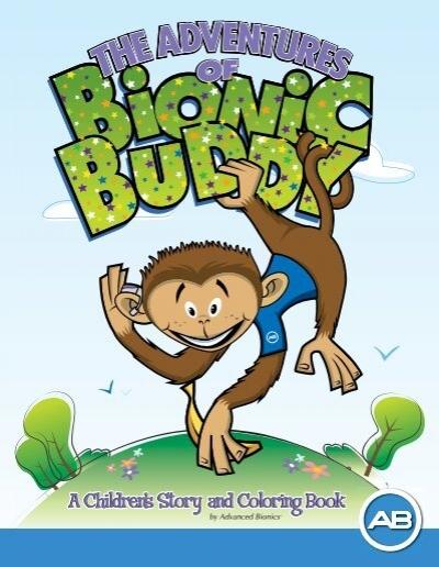 Bionic Buddy Coloring Book