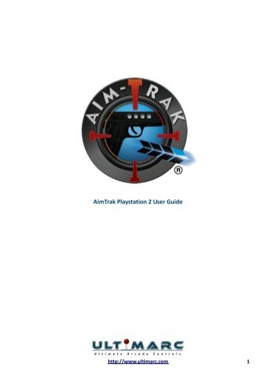 aimtrak playstation 2 user guide ultimarc rh yumpu com PlayStation 3 PlayStation 10