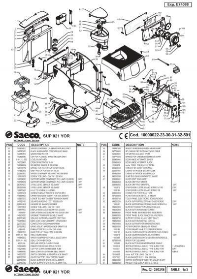 e74088 rev02 saeco incanto rond sbs rs indd. Black Bedroom Furniture Sets. Home Design Ideas