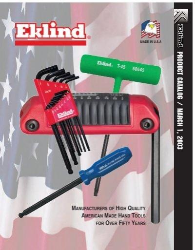 Eklind 15050 T50 Ball//Torx L-Key, Eklind Tool Pack of 5