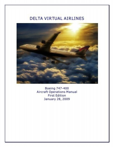 747 operating manual delta virtual airlines rh yumpu com 737 operating manual 747 operating manual
