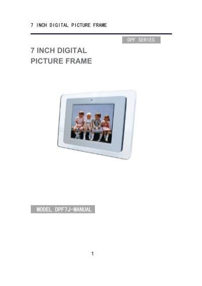 7 inch digital picture frame - Reporter-fiab.com