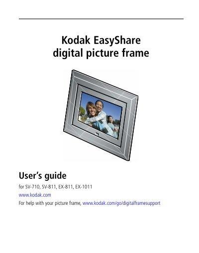 Kodak Easyshare Digital Picture Frame Scott Trent