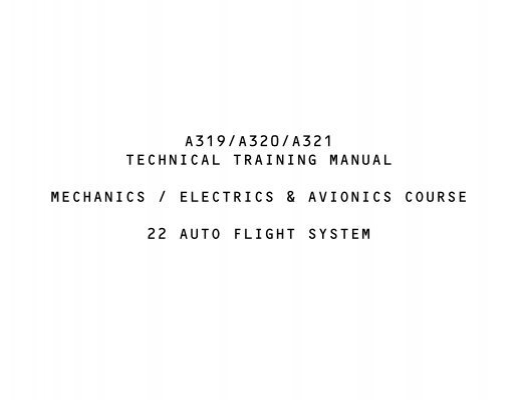 a319/a320/a321 technical training manual mechanics     - Avdyne