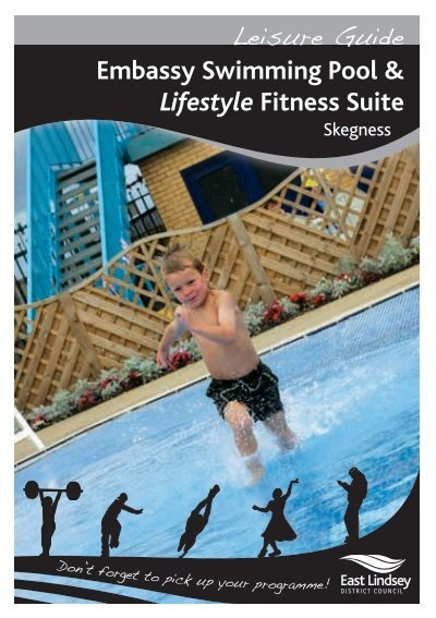 Embassy Swimming Pool Lifestyle Fitness Suite East Lindsey
