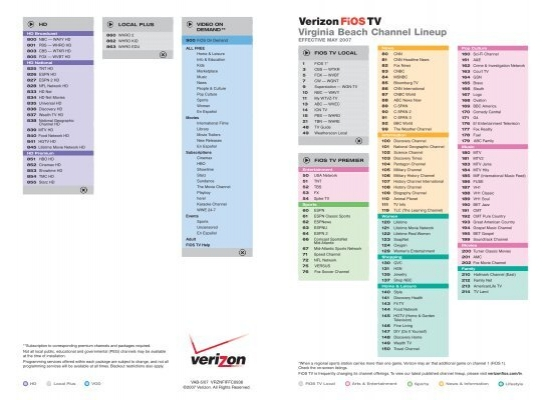 bet channel on verizon cable