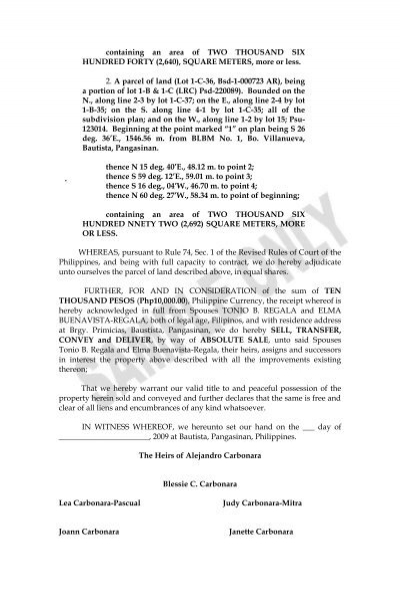 extra judicial settlement of estate with Extrajudicial settlement of estate among heirs with waiver of rights-ellen2 -  free download as word doc (doc / docx), pdf file (pdf), text file (txt) or read.