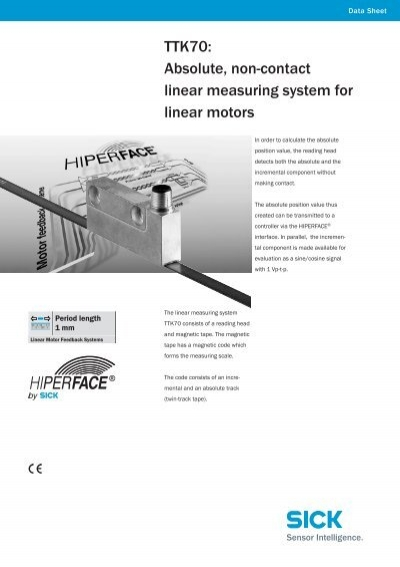 Linear Measuring Devices : Ttk absolute non contact linear measuring system