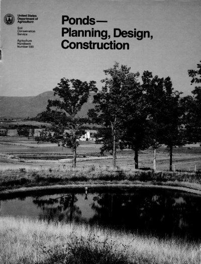 Ponds Planning Design Construction