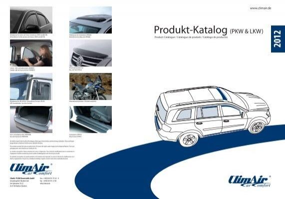 Climair LKW-Windabweiser Mercedes-Benz Kabine 641