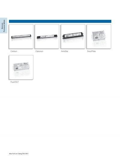 PhilipsAdvanceMark 10 Powerline dimmableballasts VEZ-1T42-M2-BS USED