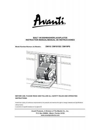 Avanti Dishwasher Schematic Circuit Wiring And Diagram Hub