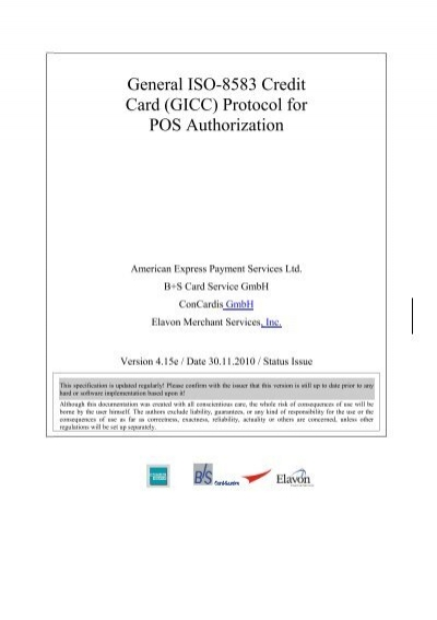 3 Key Features of the GICC Protocol - American Express