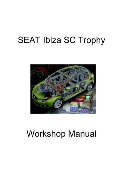 seat ibiza sc trophy workshop manual seat sport rh yumpu com Usuario Icon Usuarios Internos