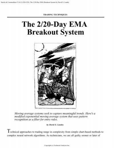 20 ema trading system