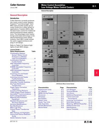 Eaton Cutler-Hammer Motor Control Center Info Cat - Tri-State ...Yumpu