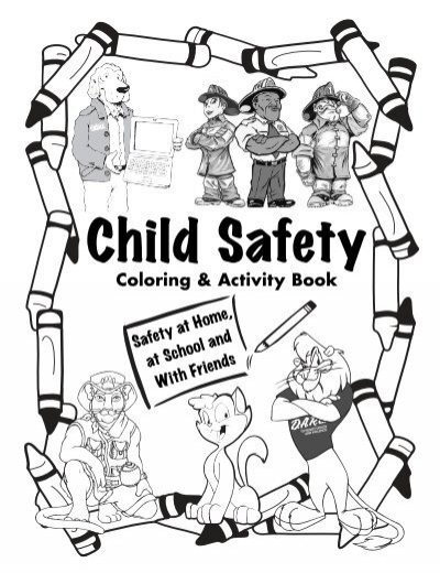 kids safety coloring pages - photo#27