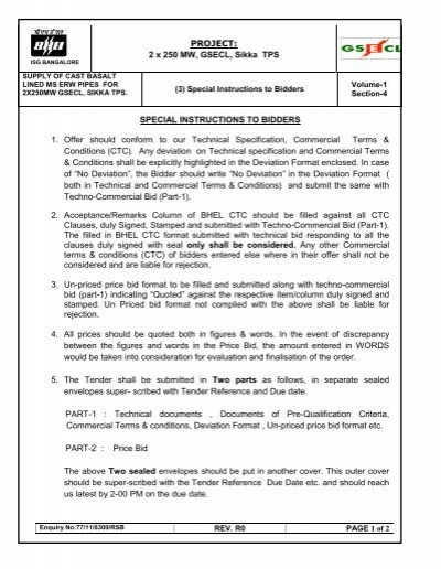 Notice Inviting Tender Nit Invitation For Bids Ifb