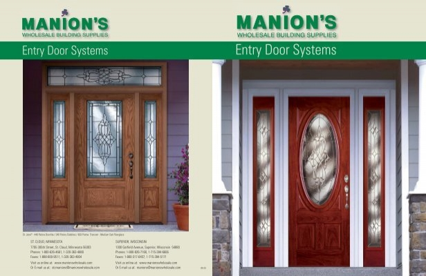 Entry Door Systems   Manions Wholesale