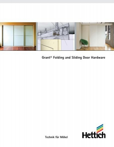Grant® Folding and Sliding Door Hardware - Hettich