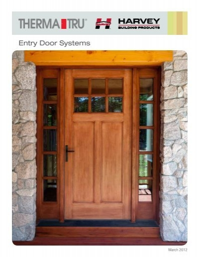 Delicieux Harvey Therma Tru Entry Door Systems   Harvey Building Products