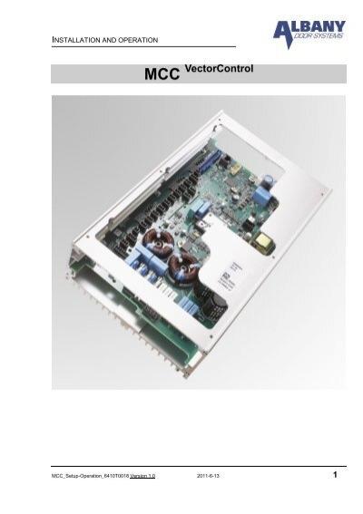 Mcc Vectorcontrol Controller Albany Door Systems