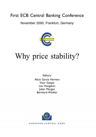 how to achieve price stability
