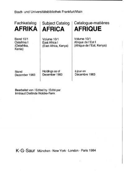 Afrika1001 Pdf