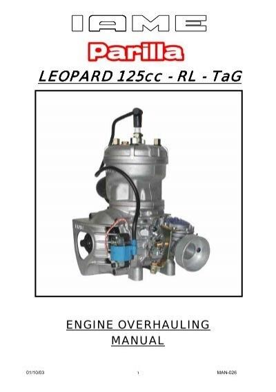 leopard 125cc leopard 125cc rl tag rh yumpu com Small Engine Repair Manuals Kohler Engines Service Manual