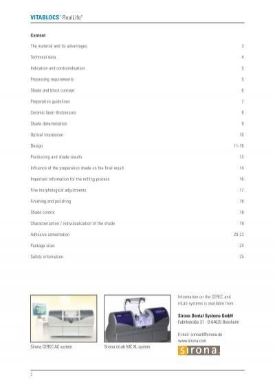 cerasmart cerec block pdf product info