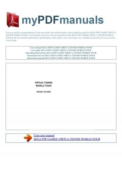 user manual sega nintendo ds games sonic rush rh yumpu com Owner's Manual sega instruction manuals