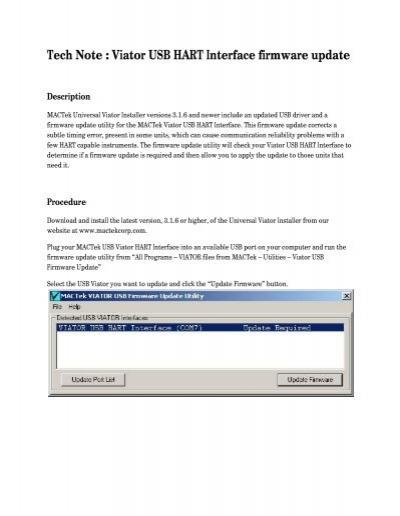 mactek viator driver download
