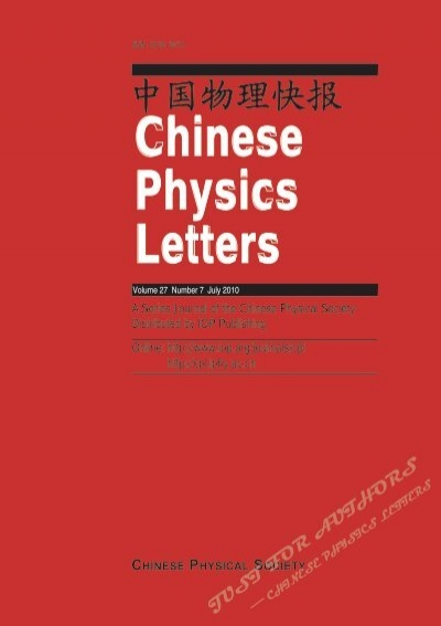 Chinese Physics Letters V