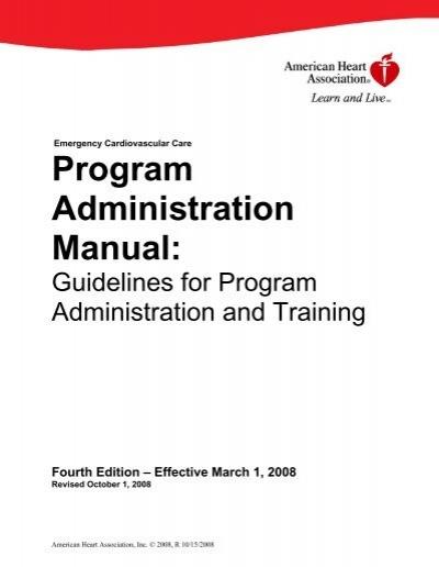 aha program administration manual pam rh yumpu com AHA CPR Flyer AHA Instructor Rosters