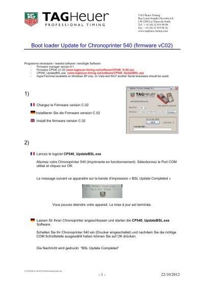 Bootloader Firmware Version
