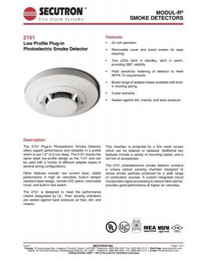 Low Profile Photo Smoke Detector - ArcherYumpu