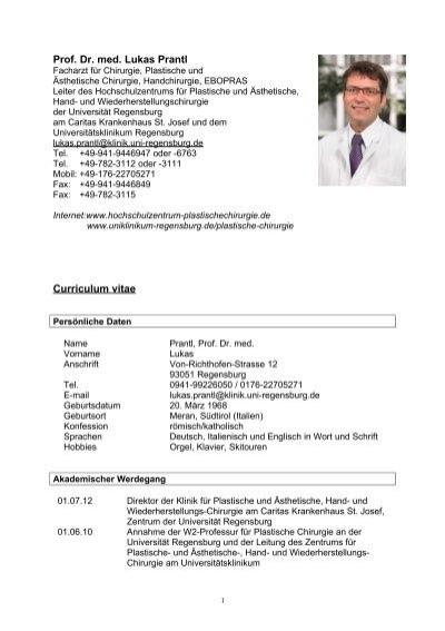 Ziemlich Lebenslauf Für Schreiber Im Krankenhaus Galerie ...