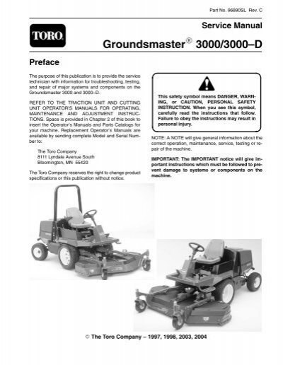 toro groundsmaster 117 wiring diagram   37 wiring diagram