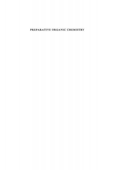 Weygand Hilgetag Preparative Organic Chemistry