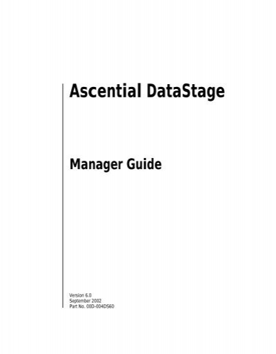 Datastage 8. 5 installation guide | metadata | ibm db2.