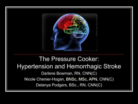 Hypertension Causing Hemorrhagic Stroke