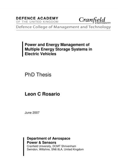 Dspace phd thesis