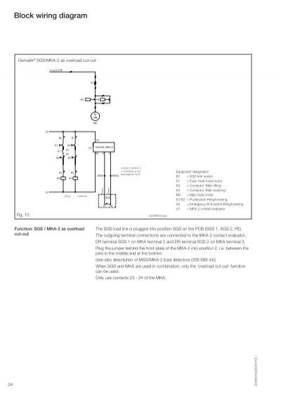 block wiring diagram dema