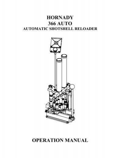 hornady reloading manual pdf download