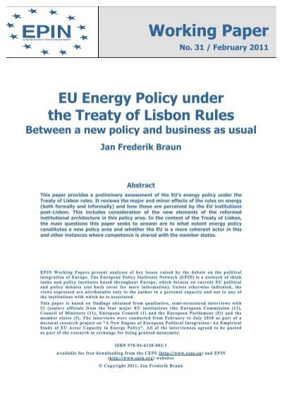 Response to the Joint Research Centre and the European ...